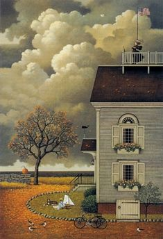 Yearning for my Captain by Charles Wysocki                                                                                                                                                      More