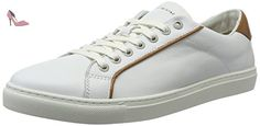 Tommy Hilfiger M2285ount 4a1, Sneakers Basses Homme, Blanc (White 100), 45 EU - Chaussures tommy hilfiger (*Partner-Link)