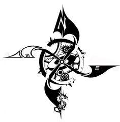 J.J. Kocholek - The compass tattoo