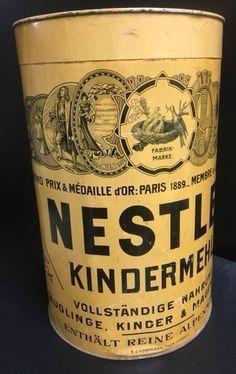 Nestle Tin Nest Trockenmilch Nestle Throughout History