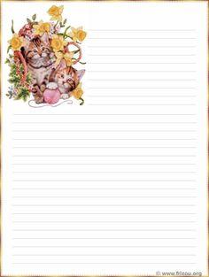 Papeterie .Papier à lettre à imprimer