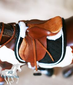 Rachel Fail Model Horse Tack: Back in the saddle again