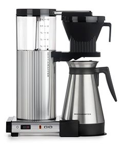 Moccamaster CDGT 10Cup Coffee Brewer with Thermal Carafe Polished Silver * To view further for this item, visit the image link.  This link participates in Amazon Service LLC Associates Program, a program designed to let participant earn advertising fees by advertising and linking to Amazon.com.