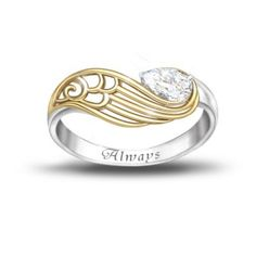 Womens Ring: Always With You Ring; Brandford Exchange To remember loved ones. Thinking for my mom, because she lost her best friend to cancer.