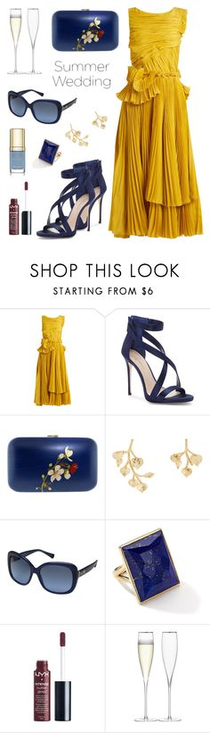 """""""Summer wedding"""" by ana-amorim ❤ liked on Polyvore featuring Rochas, Imagine by Vince Camuto, Silvia Furmanovich, Kenneth Jay Lane, Coach, Ippolita, Charlotte Russe, LSA International, Dolce&Gabbana and summerwedding"""