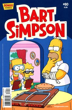 Simpsons Comics Presents Bart Simpson 80