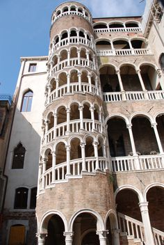 Always forget to take a photo of the Scala Contarini del Bovolo when we are in Venice. Would love to ride a horse up the stairs