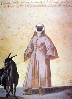 Turkish woman in outdoor dress_Nicolas de Nicolay_1555
