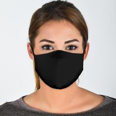 A fashionable and stylish face mask cover and great for everyday use and basic only protection. Re-Usable/Washable Fashion Face Mask Plain Black, All Black, Trans Pride Flag, Facial, Free Filters, Flag Face, Nyc Subway, Lesbian Pride, Linnet