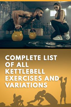 List of All Kettlebell Exercises with Tutorials and Videos - List of All Kettlebell Exercises with Tutorials and Videos kettlebell exercise variations and 38 kettlebell exercises to include in your kettlebell training. Kettlebell Training, Full Body Kettlebell Workout, Kettlebell Circuit, Pilates Training, Kettlebell Challenge, Training Exercises, Strength Workout, Boxing Workout, Fitness Workouts