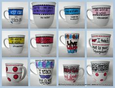 How to Paint a Marvelous Mug  What paints do I use?  Where did you buy the ceramic mug?  Is it dishwasher safe?