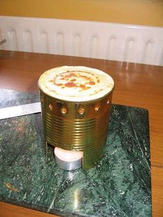 Tin can pancakes - What? This is cool!
