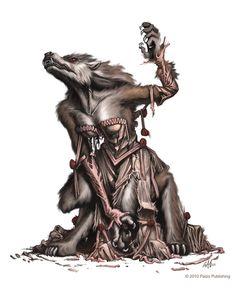 Female Werewolf by christopherburdett on DeviantArt