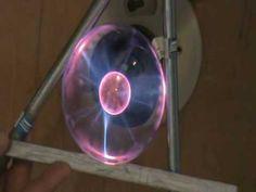 Hyperdimensional Physics Experiment - plasma ball