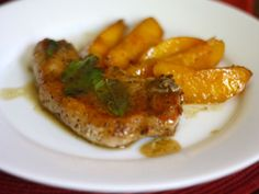Most people understand that pairing pork chops and apples is a foolproof dinner, so why is it such a stretch to pair the meat with some in-season peaches straight from the farmers' market?