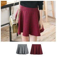 2013 Winter Fashion Temperament Houndstooth Skirt