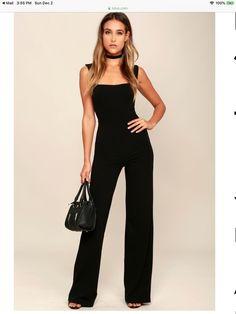 88d851037d1 Lulus Women s Black Enticing Endeavors Jumpsuit Size Small NEW  fashion   clothing  shoes