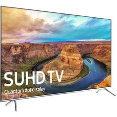 "SAMSUNG 60"" 8000 Series - 4K SUHD Smart LED TV - 2160p, 240MR #Samsung"