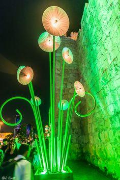Light display in Jerusalem's Light Festival by Jacky COSTI©- Photography on 500px