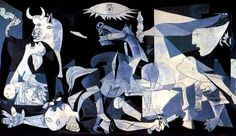 La Guernica by Pablo Picasso, just another mural I'd love to see one day!