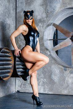 Catwoman has Legs - Alena Chumakova - LE by LegsEmporium