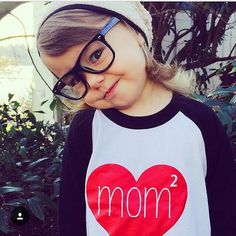 Hey, I found this really awesome Etsy listing at https://www.etsy.com/listing/222689446/mom-squared-lgbt-kid-shirt-gay-baby