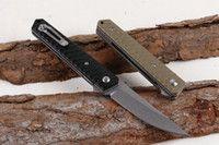 Cuchillos plegables libres de la lámina del cuchillo que acampa del cuchillo del cuchillo de la supervivencia del EDC de dos modos
