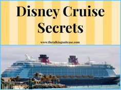 As a lover of all things Disney, I couldn't wait to take my kids on a Disney Cruise. Make your trip easier and save money with these 15 Disney Cruise Secrets! Do the research before you go!