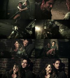 "#TeenWolf 6x08 ""Blitzkrieg"" - Scott and Malia"