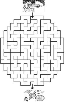 Printable worksheets for kids Mazes 13