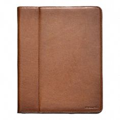 Coach iPad case.  Yes, please.