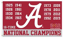 Alabama Crimson Tide Official Flag 3x5FT 150X90CM NCAA Banner 100D Polyester Custom flag grommets,(China (Mainland))