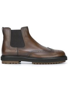 TOD'S Chunky Sole Chelsea Boots. #tods #shoes #boots