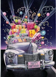 Happy Birthday 🎈💙🎈💖🎈 Vintage