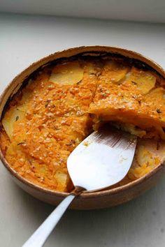 وصفات: طاجن البطاطس بالطماطم