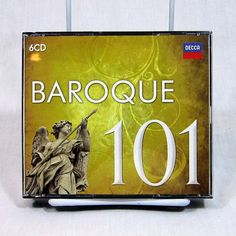 Baroque 101 6 CD Set Compilation Decca Music Group 2013 Canada #Baroque