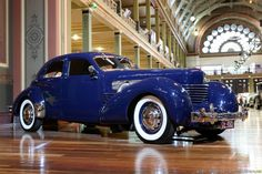 1937 CORD Supercharged Model 812 at the Auburn-Cord-Duesenberg Museum in Auburn, Indiana.