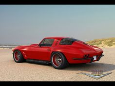 Chevy Corvette Coupe customized by Zolland Design. Awesome American Muscle Chevy Corvette Coupe customized by Zolland Design. Chevrolet Corvette, Corvette C2, Classic Corvette, Corvette Summer, Chevy Camaro, Custom Muscle Cars, Chevy Muscle Cars, Custom Cars, Volkswagen
