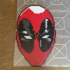 Deadpool perler beads by klep2024