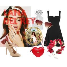 Lana Del Rey Outfit Inspiration #lanadelrey