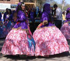 Gypsy dancer, La Tirana, Iquique, Chile
