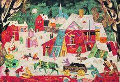 Vianočné sviatky ukazovali aj slovenskí maliari. Takéto sú najkrajšie obrazy | Vizuálne umenie | kultura.sme.sk