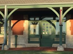 Thursday Doors Taking you down our Katy Trail this Thursday to the Katy Depot…