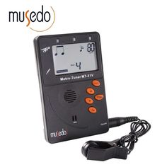 [Visit to Buy] Musedo MT-31V Violin Metro-Tuner Metronome Tone Generator 3 in 1 Special For Violin Use Digital LCD Violin Tuner With Pickup #Advertisement