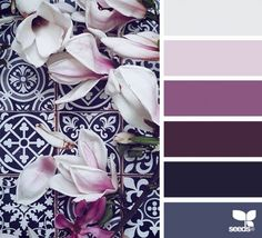 46 Unique Color Palletes Combinations to Inspire You - Before you pick your room paint colors, it is essential that you know the science of colour psychology, colors directly impact our moods and feelings. by Joey Colour Pallette, Color Palate, Colour Schemes, Color Combos, Color Patterns, Room Paint Colors, Bedroom Colors, Lila Palette, Beautiful Color Combinations