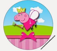 Peppa Pig Hada: Etiquetas para Candy Bar para Imprimir Gratis.   Ideas y material gratis para fiestas y celebraciones Oh My Fiesta!#more#more