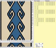 Bunad, Smykker, vev & rosemaling: Mønster