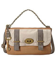 Fossil Handbag, Mason Top Zip Flap - $148
