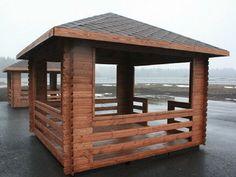Wooden Summer House, Gazebo, Backyard, Outdoor Structures, Nail Manicure, Kiosk, Patio, Pavilion, Backyards