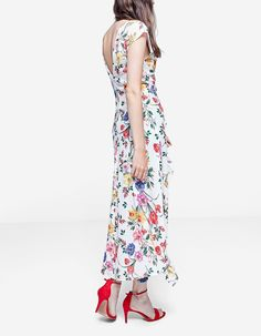 At Stradivarius you'll find 1 Long ruffled dress for just 29.99 United Kingdom . Visit now to discover this and more Just In.